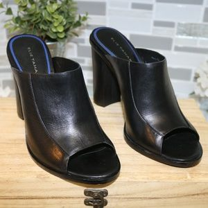 Elie Tahari heels genuine leather